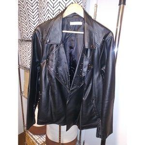 JustFab studded jacket